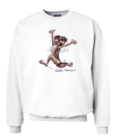 Border Terrier - Happy Dog - Sweatshirt