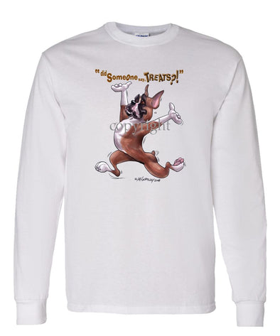 Boxer - Treats - Long Sleeve T-Shirt