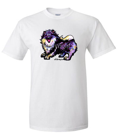 Keeshond - Cool Dog - T-Shirt