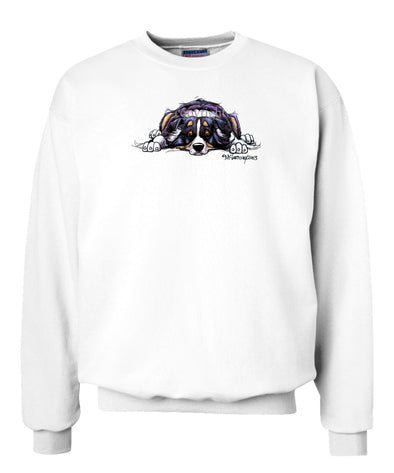 Australian Shepherd  Black Tri - Rug Dog - Sweatshirt