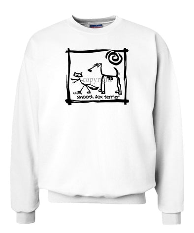 Smooth Fox Terrier - Cavern Canine - Sweatshirt