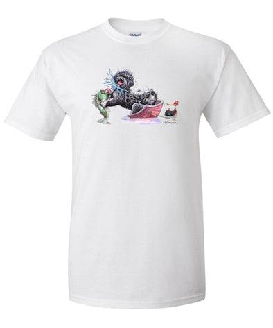 Portuguese Water Dog - Fish Squirting - Mike's Faves - T-Shirt