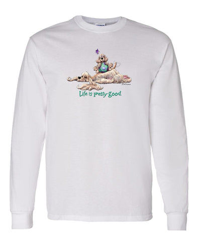 Cocker Spaniel - Life Is Pretty Good - Long Sleeve T-Shirt