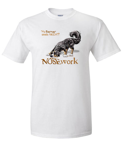 Bernese Mountain Dog - Nosework - T-Shirt