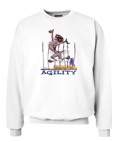 German Shorthaired Pointer - Agility Weave II - Sweatshirt