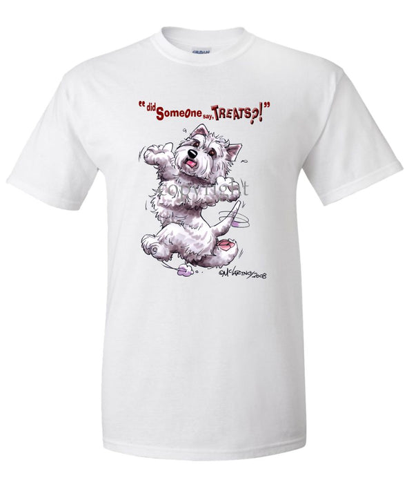 West Highland Terrier - Treats - T-Shirt