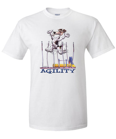 Wire Fox Terrier - Agility Weave II - T-Shirt