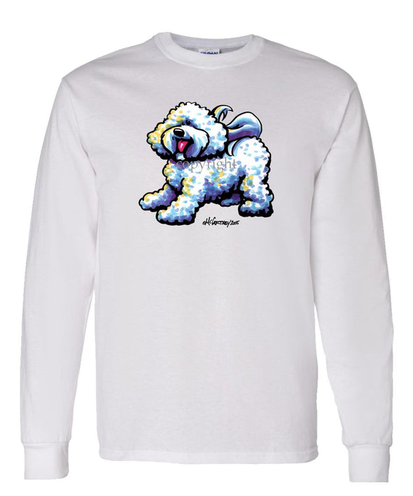 Bichon Frise - Cool Dog - Long Sleeve T-Shirt
