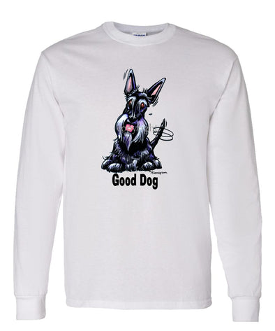 Scottish Terrier - Good Dog - Long Sleeve T-Shirt
