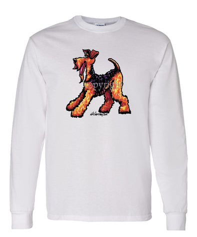Airedale Terrier - Cool Dog - Long Sleeve T-Shirt