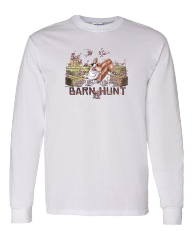 Welsh Corgi Pembroke - Barnhunt - Long Sleeve T-Shirt