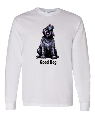 Bouvier Des Flandres - Good Dog - Long Sleeve T-Shirt