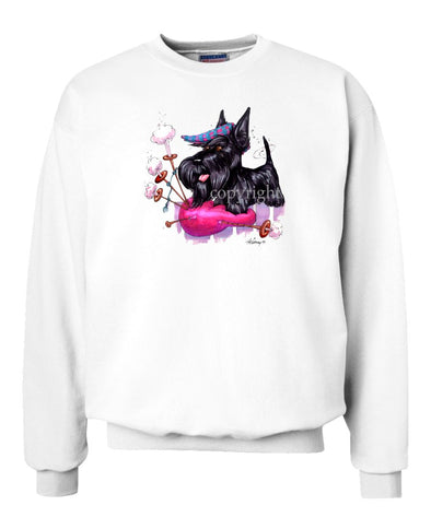 Scottish Terrier - Bagpipe - Caricature - Sweatshirt