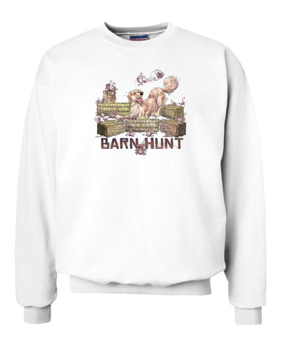 Golden Retriever - Barnhunt - Sweatshirt