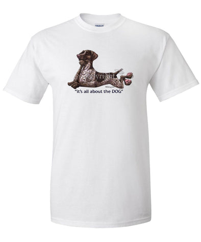 German Shorthaired Pointer - All About The Dog - T-Shirt