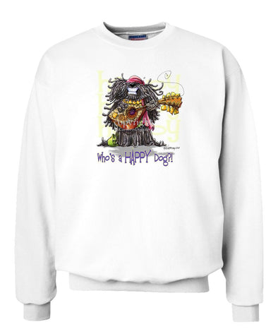 Puli - Who's A Happy Dog - Sweatshirt