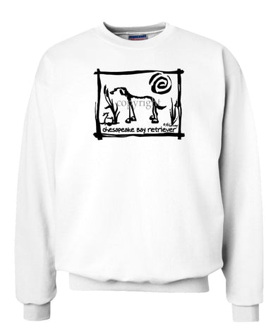 Chesapeake Bay Retriever - Cavern Canine - Sweatshirt