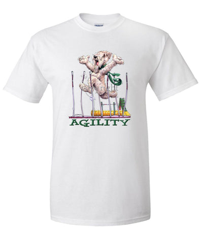 Soft Coated Wheaten - Agility Weave II - T-Shirt