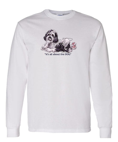 Havanese - All About The Dog - Long Sleeve T-Shirt
