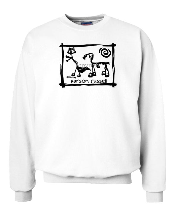 Parson Russell Terrier - Cavern Canine - Sweatshirt