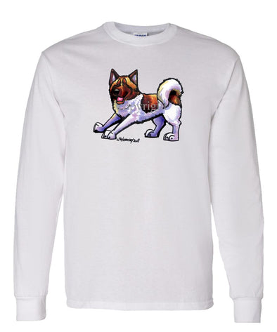Akita - Cool Dog - Long Sleeve T-Shirt