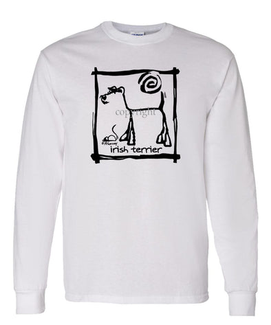 Irish Terrier - Cavern Canine - Long Sleeve T-Shirt