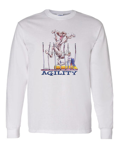 English Setter - Agility Weave II - Long Sleeve T-Shirt