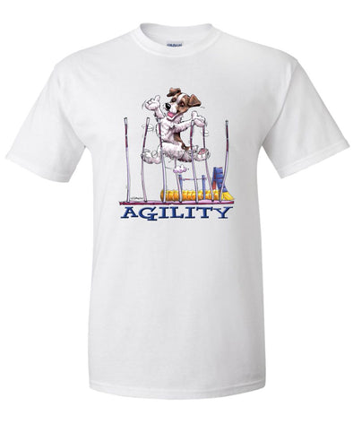 Parson Russell Terrier - Agility Weave II - T-Shirt
