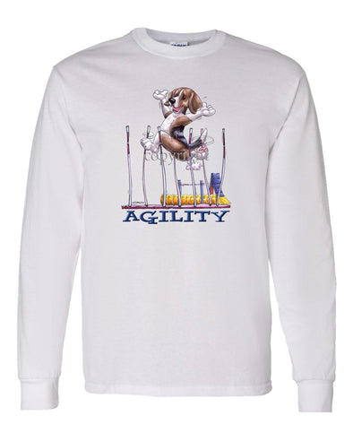 Beagle - Agility Weave II - Long Sleeve T-Shirt