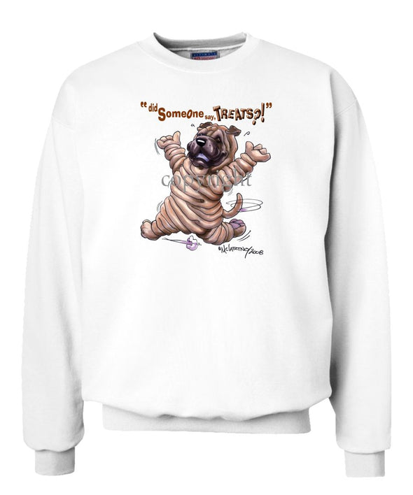 Shar Pei - Treats - Sweatshirt