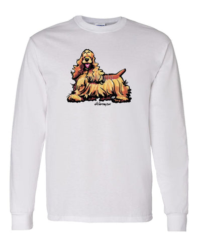 Cocker Spaniel - Cool Dog - Long Sleeve T-Shirt