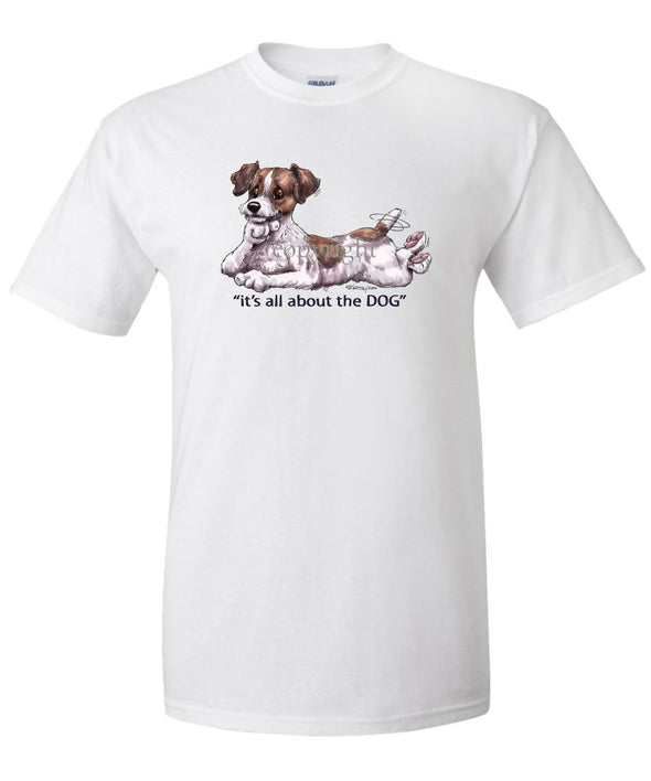 Parson Russell Terrier - All About The Dog - T-Shirt