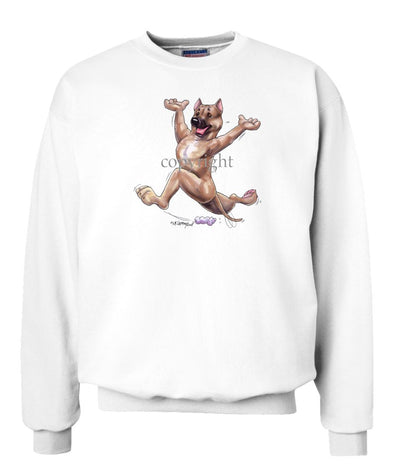 American Staffordshire Terrier - Happy Dog - Sweatshirt