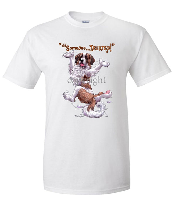 Saint Bernard - Treats - T-Shirt