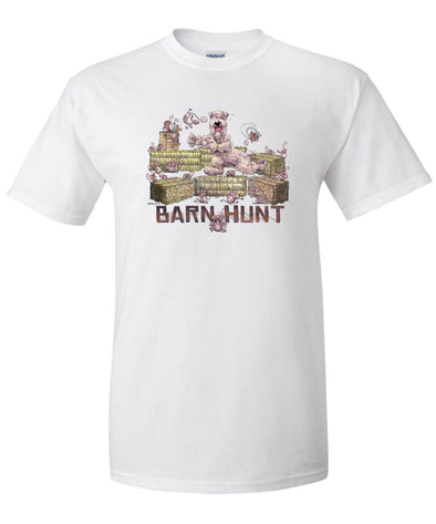 Soft Coated Wheaten - Barnhunt - T-Shirt