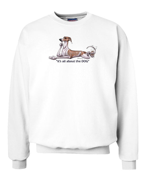 Whippet - All About The Dog - Sweatshirt
