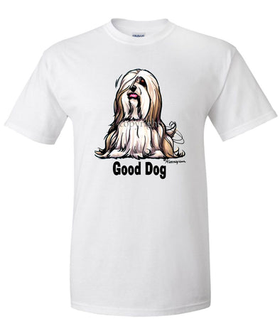 Lhasa Apso - Good Dog - T-Shirt