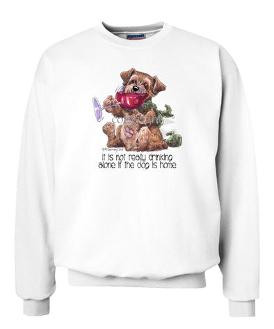 Norfolk Terrier - It's Not Drinking Alone - Sweatshirt