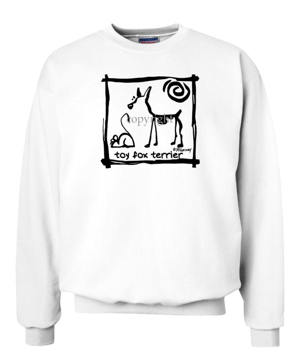 Toy Fox Terrier - Cavern Canine - Sweatshirt
