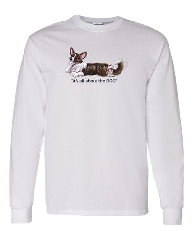 Welsh Corgi Cardigan - All About The Dog - Long Sleeve T-Shirt