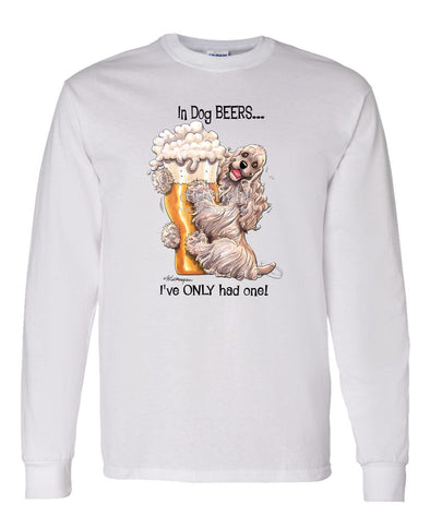 Cocker Spaniel - Dog Beers - Long Sleeve T-Shirt