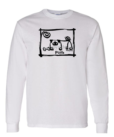 Pug - Cavern Canine - Long Sleeve T-Shirt