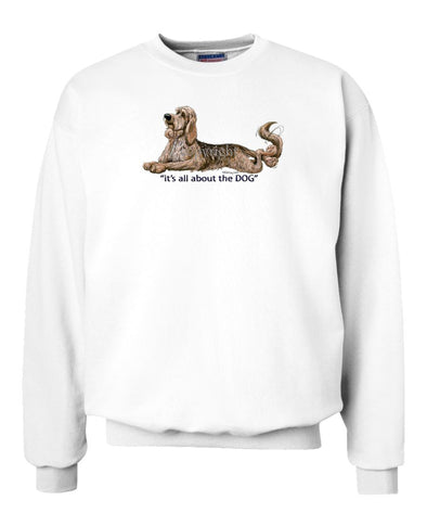 Otterhound - All About The Dog - Sweatshirt