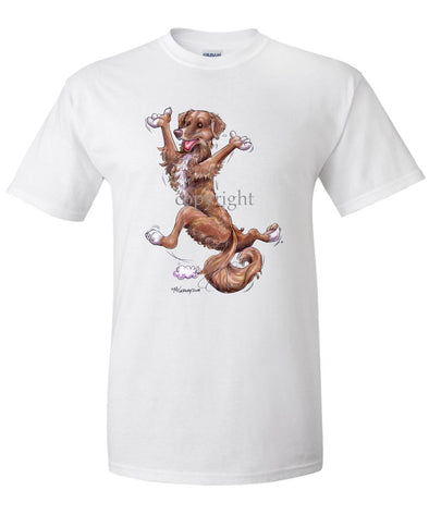 Nova Scotia Duck Tolling Retriever - Happy Dog - T-Shirt