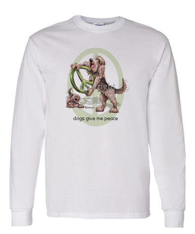 Otterhound - Peace Dogs - Long Sleeve T-Shirt