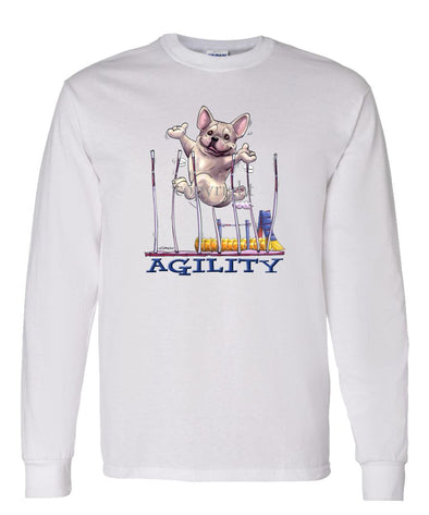 French Bulldog - Agility Weave II - Long Sleeve T-Shirt