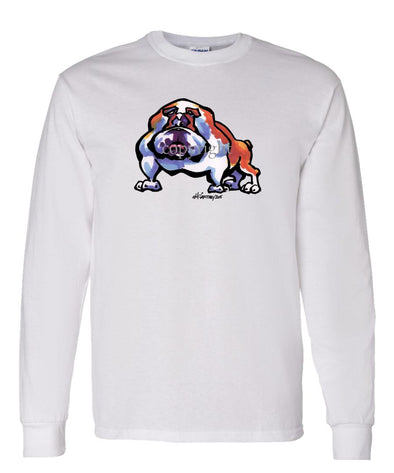 Bulldog - Cool Dog - Long Sleeve T-Shirt