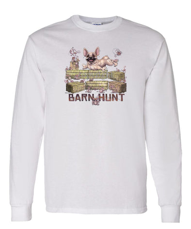 French Bulldog - Barnhunt - Long Sleeve T-Shirt