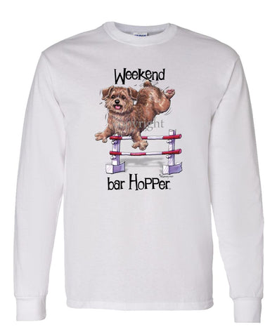Norfolk Terrier - Weekend Barhopper - Long Sleeve T-Shirt