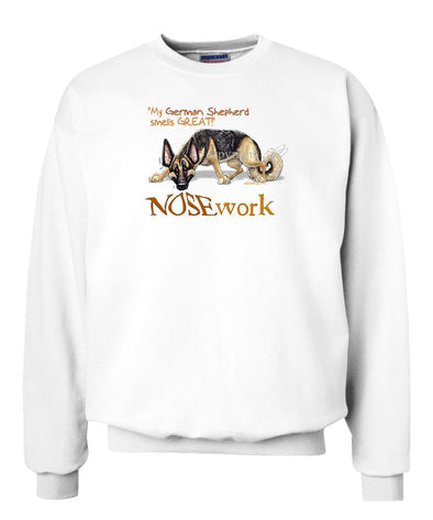 German Shepherd - Nosework - Sweatshirt